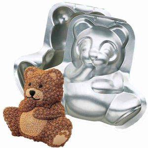 3D Bear Cake Tin