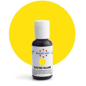 Electric Yellow AmeriColor Soft Gel Paste