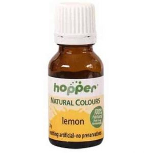 Natural Food Colour Lemon Yellow 20G