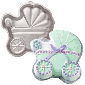 Baby Buggy (Pram) Cake Tin
