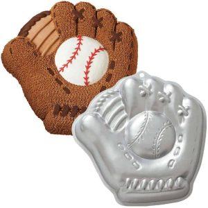 Base Ball Glove Cake Tin