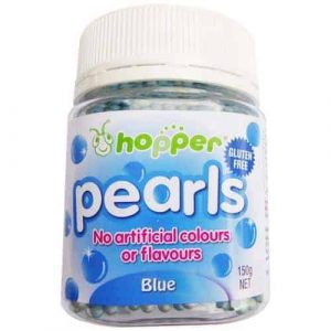 Natural Blue Pearls 100s & 1000s Sprinkles (Hopper)