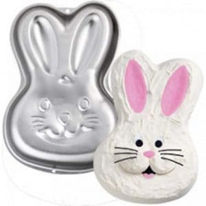 Bunny Rabbit Face Cake Tin