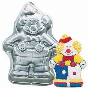 Clown Cake Tin
