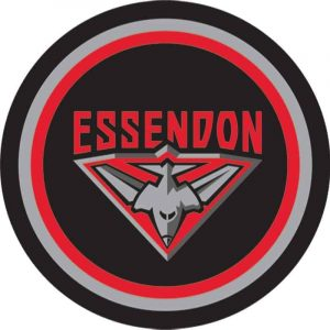Essendon Edible Cake Image