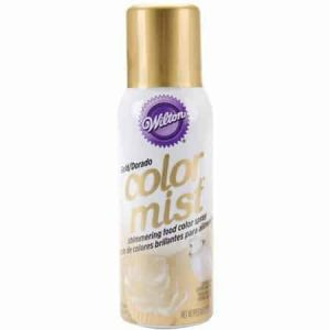 Gold Color Mist Spray