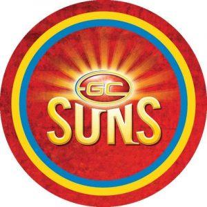 Goldcoast Suns Edible Cake Image