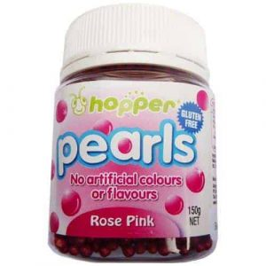 Natural Rose Pink 100s & 1000s Sprinkles (Hopper)