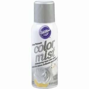 Silver Color Mist Spray