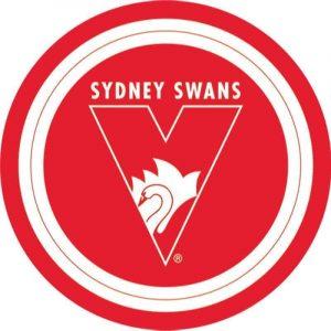 Sydney Swans Edible Cake Image