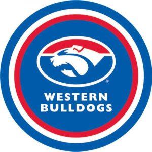 Western Bulldogs Edible Cake Image