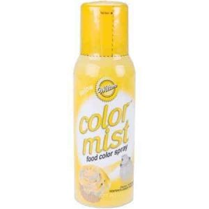 Yellow Color Mist Spray