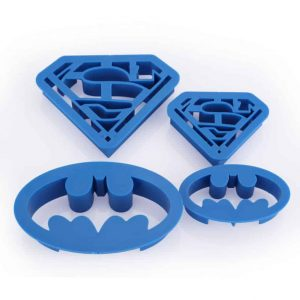 Batman Superman Cutter Set