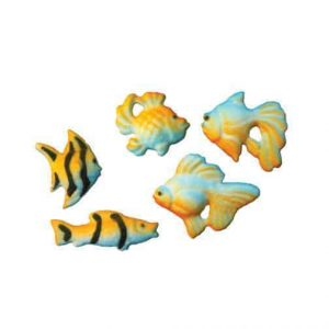 Aqarium Fish Cupcake Decal/Toppers