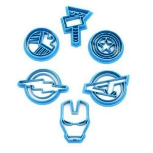 Avengers Marvel Superhero Cookie Cutters