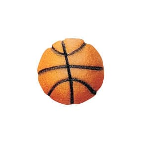 Basketball Cupcake Decal/Toppers