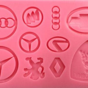 Car Logo's Silicone Mould