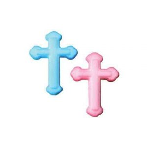 Blue Cross Cupcake Decal/Toppers (6)PC