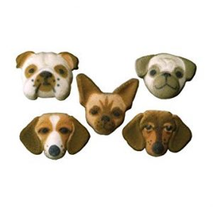 Dog Cupcake Decal/Toppers