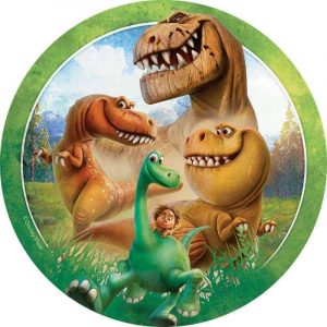 Good Dinosaur Round Edible Image