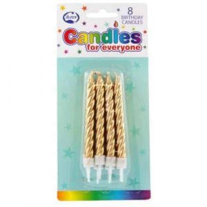 Gold Candles (8)
