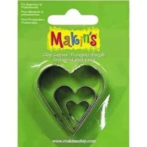 3 Piece Heart Cutters