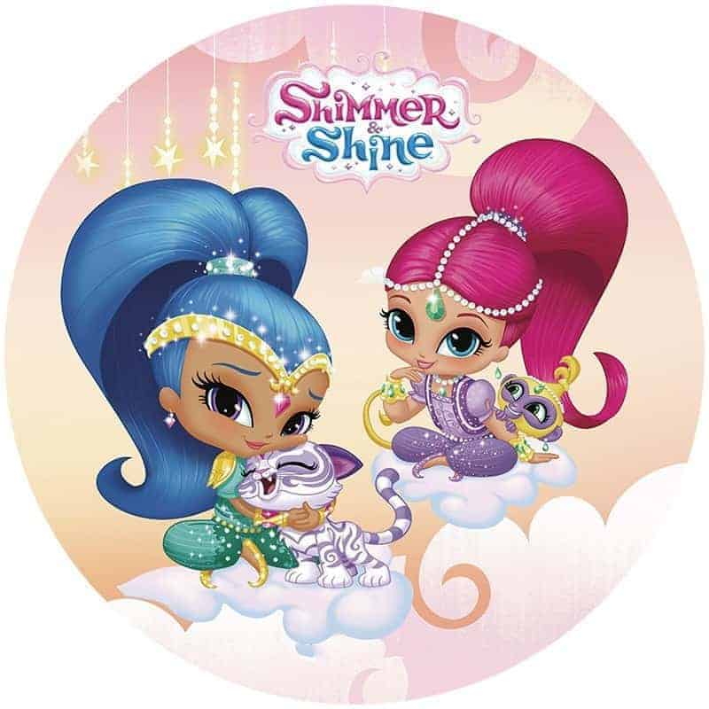 Shimmer Amp Shine Round Edible Image My Delicious Cake