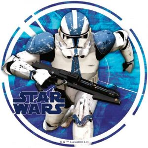 Star Wars Trooper Round Edible Image