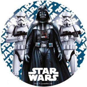 Star Wars Round Edible Image
