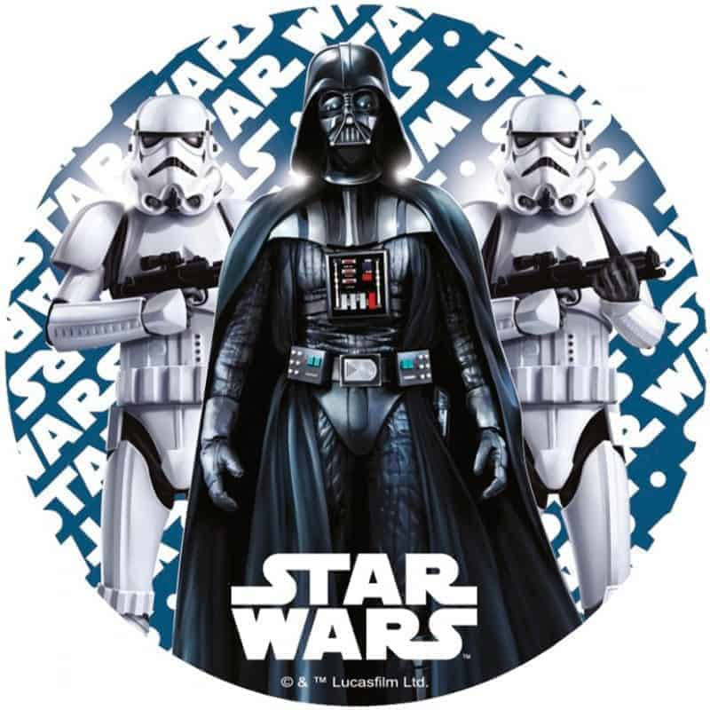 Star Wars Round Edible Image My Delicious Cake