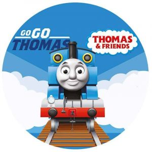 Thomas The Tank Round Edible Image
