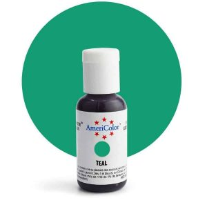Teal AmeriColor Soft Gel Paste