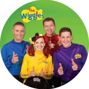 Wiggles Round Edible Image