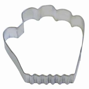 Baseball Glove Cookie Cutter