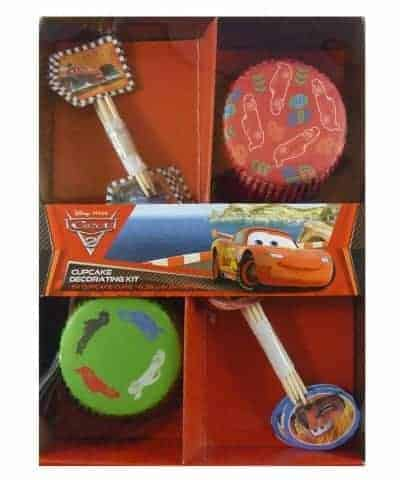 Cars Cupcake Kit My Delicious Cake Decorating Supplies