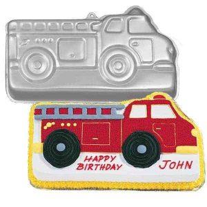 Fire Truck Cake Tin