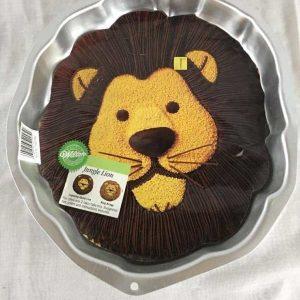 Lions Face Cake Tin