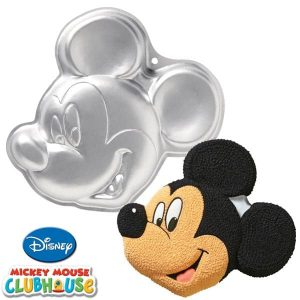 Mickey Mouse Face Cake Tin