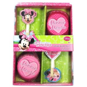 Minnie Mouse Cupcake Kit