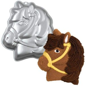 Pony Head Cake Tin