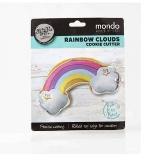 MONDO RAINBOW WITH CLOUDS COOKIE CUTTER