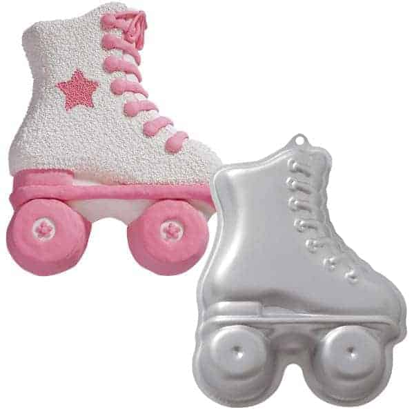 Roller Skate Cake Tin My Delicious Cake Decorating Supplies