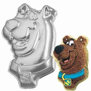 Scooby Doo Face Cake Tin