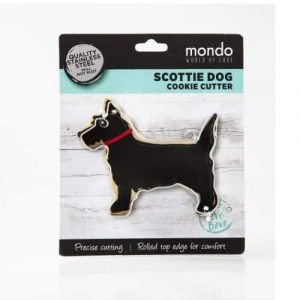 MONDO SCOTTIE DOG COOKIE CUTTER