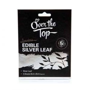 Edible Silver Leaf Pack of 5