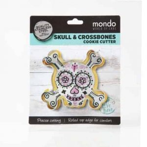 MONDO SKULL & CROSSBONES COOKIE CUTTER