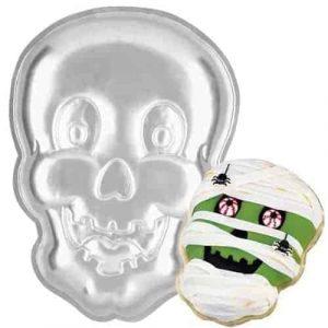 Skull Face Cake Tin