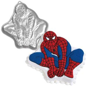 Spiderman Crouching (NEW) Cake Tin