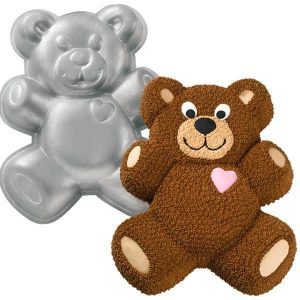 Teddy Bear Cake Tin