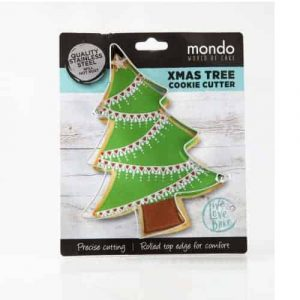 MONDO XMAS TREE COOKIE CUTTER